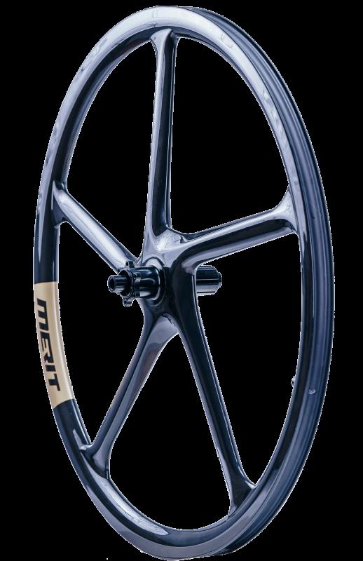 Merit Windmill 622 gravel full carbon wheels